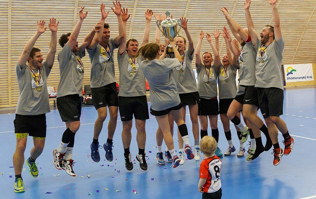 Brno doma získalo třetí korfbalový titul v historii