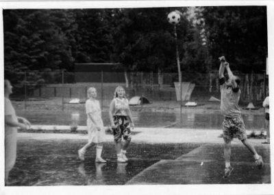 1991 - Trénink v Kuřimi