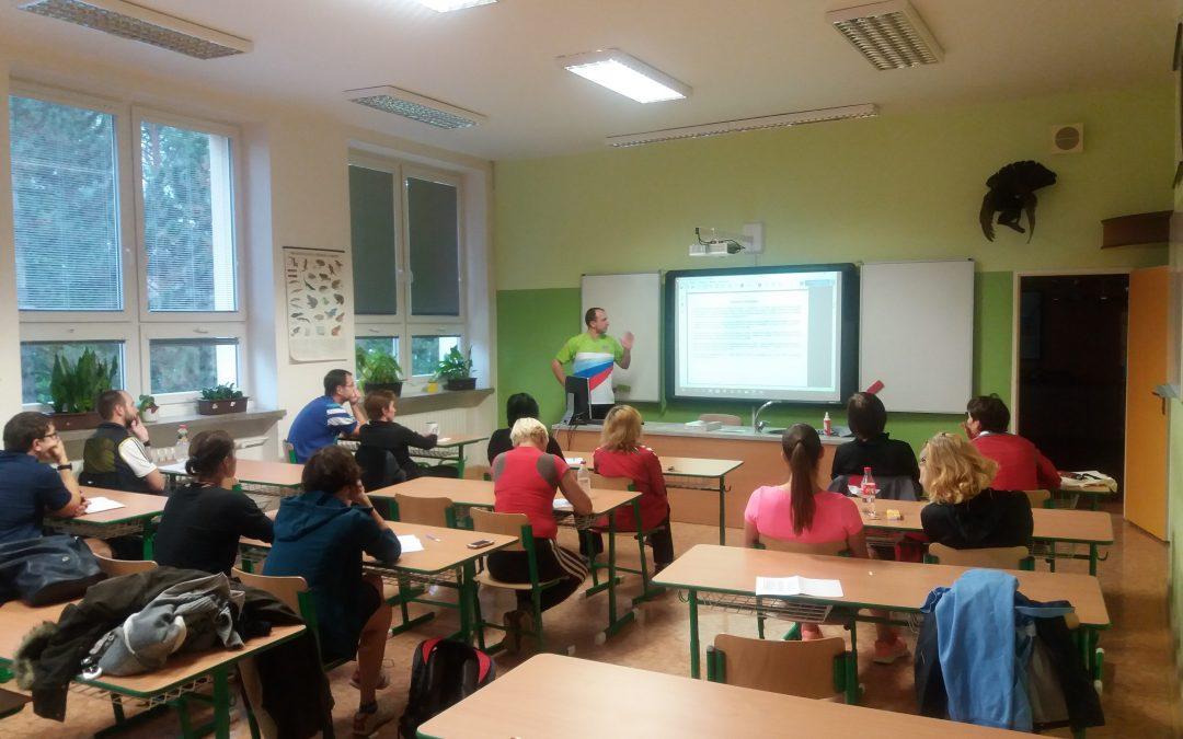 Pozvánka na školení trenérů 8.5. v Brně