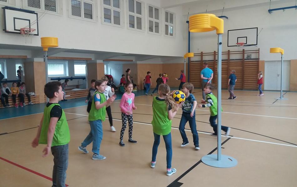 ZŠ Gajdošova z Brna s velkým zájmem o korfbal