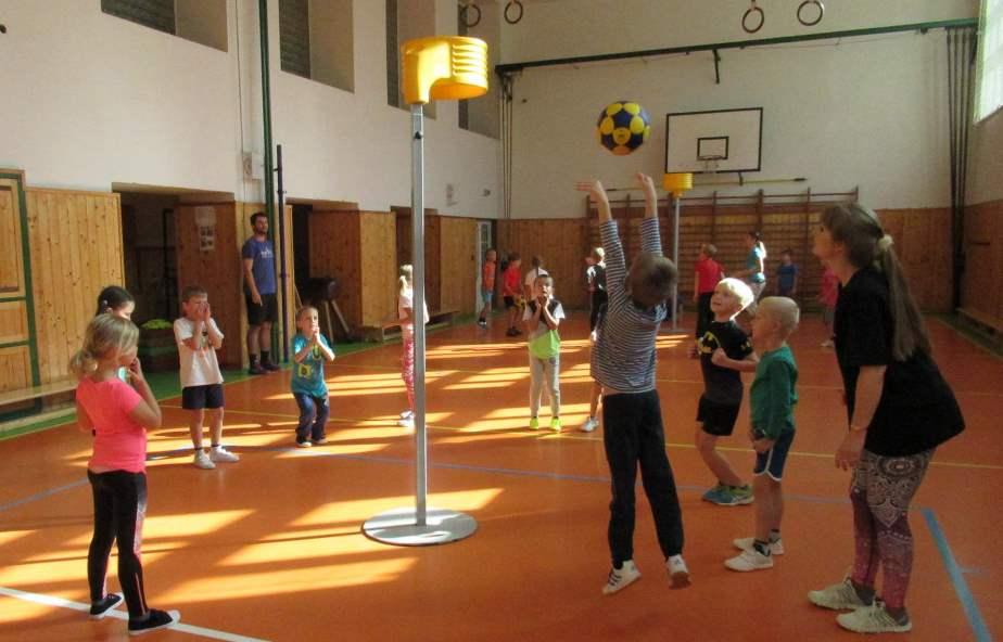 V maloměřické ZŠ Hamry má korfbalový kroužek již několikaletou tradici