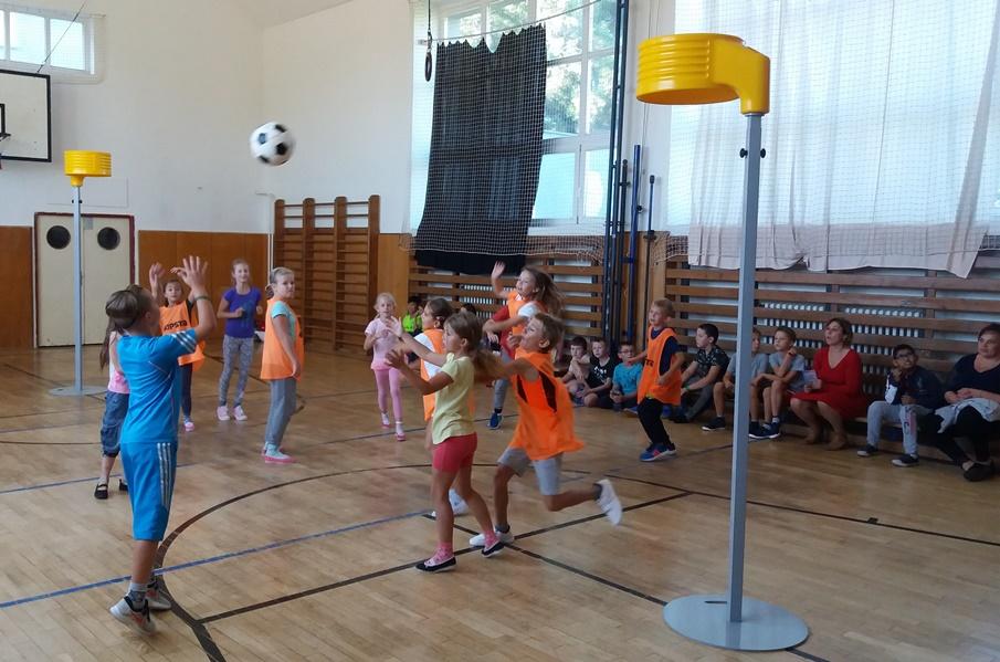 Korfbal se představil na ZŠ Měšťanská v Brně-Tuřanech