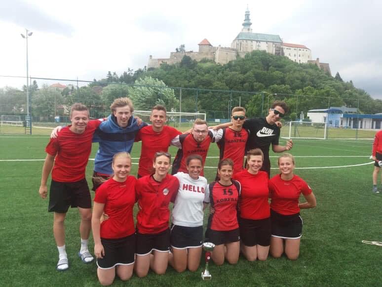 Mezinárodní korfbalový víkend v Nitře pohledem družstva dospělých