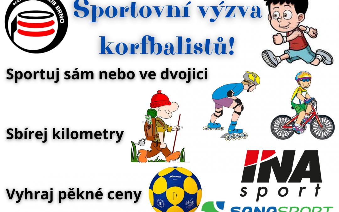 Sportovní výzva korfbalistů KK Brno!