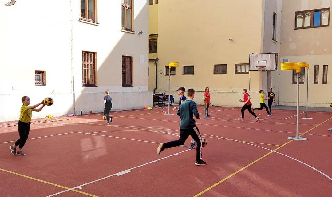 Program venkovních tréninků 3.-7. 5.